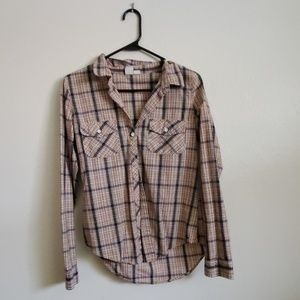 Roxy flannel shirt